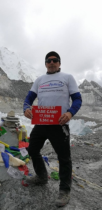 Richard Conquers Everest Base Camp