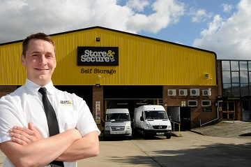 Colin Morris is promoted to facility manager at Store & Secure's Bournemouth facility.
