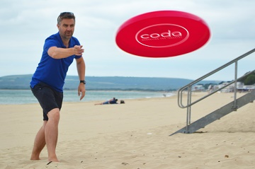 Throw yourself into industrial marketing with a free frisbee