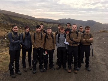 Bournemouth  Poole College students take on a mountain climb in Norway