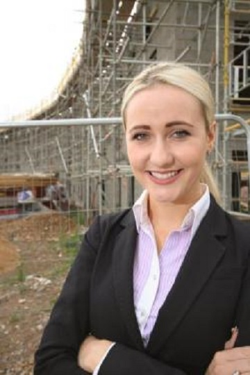 Atkins Building Surveyor and RICS Construction Ambassador, Sophie Smith.