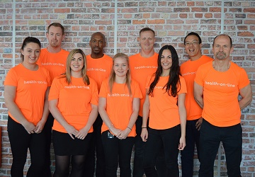 Health-on-Line staff to take on the Bournemouth Bay Run challenge