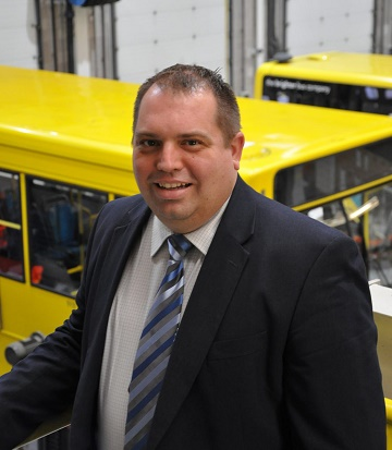 Simon Newport, Yellow Buses Commercial Director