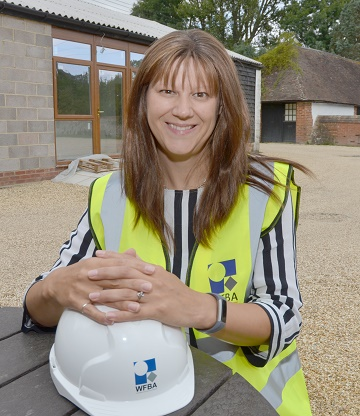 WFBA's career mum and Senior Structural Engineer Sophie Hayes