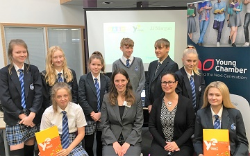 Young Chamber and Young Enterprise have come together to support students through an innovative programme funded by JPMorgan