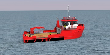 SMS 24m Aquaculture Support Vessel