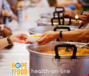 Health-on-Line join forces with Hope for Food