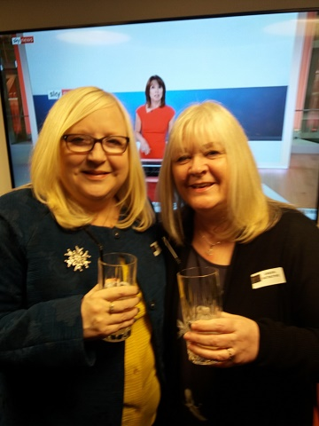 The Southern Sustainability Partnership Limited Directors, Anita Potten (right) and Lynda Daniels (left)