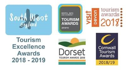 Entries to the Tourism Awards across the South West - deadline on 22nd August 2018
