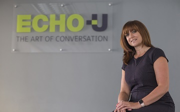 Mandy Holford, director of customer services at Echo-U in Bournemouth