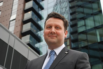 Nick Miles, as associate director at Hughes Ellard's building consultancy arm.