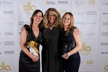 Williams Thompson Solicitors LLP in Christchurch has won the Family Law Team of the Year Award at the inaugural Dorset Legal Awards.
