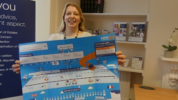 Personal assistant at Humphries Kirk Making a splash for Diabetes UK