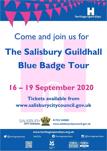 Free tour of Salisbury Guildhall as part of Heritage Open Days