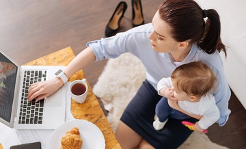 Balancing childcare with work hits South West parents' health and wellbeing