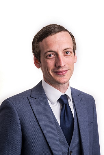 Adam Scott, joint head of private client services