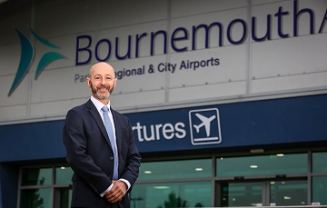 FLY BOURNEMOUTH - Stephen Gill - Managing Director at Bournemouth Airport