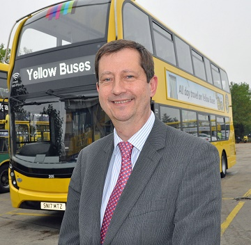 David Squire, managing director of Yellow Buses