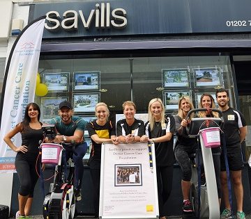 Savills of Canford Cliffs seal the deal on their 900-mile ride.