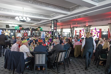 Christmas lunch raises over £22,000 for local charities Local businesses team up in aid of a good cause