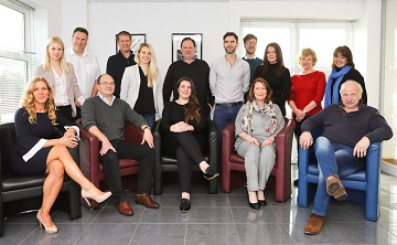 Members of the Dorset Growth Hub team including Nick Gregory, Senior Investment Manager (seated, far right).