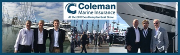 Coleman Marine Insurance reports back from Southampton Boat Show