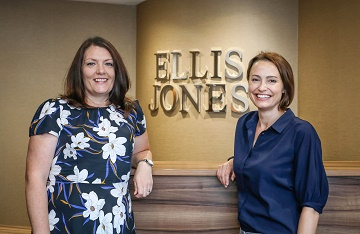 Katy Sewell, Associate Solicitor (left) with Carla Brown, Partner and Head of Wills, Trusts and Probate at Ellis Jones.