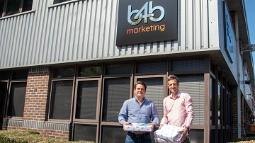 left to right, Anthony Tilley managing director and Matt Lawrence marketing manager.