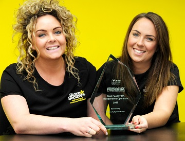 Store & Secure has won a UK self-storage industry top award for the second time in four years: (L–R) Lucy and Sophie Maidman.