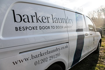 Barker promotes contactless Dry Cleaning & Laundry service