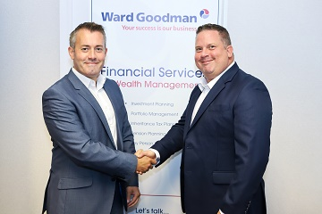 Ward Goodman Group Director, Gareth Simon with Director, Alex Foster.